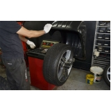 preço alinhamento e balanceamento de pneus Aricanduva