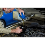 troca de óleo de carro